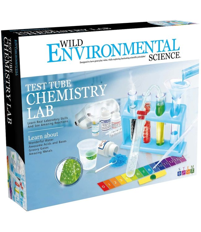 Learning Advantage Test Tube Chemistry Set
