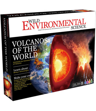 Learning Advantage Volcanos of the World