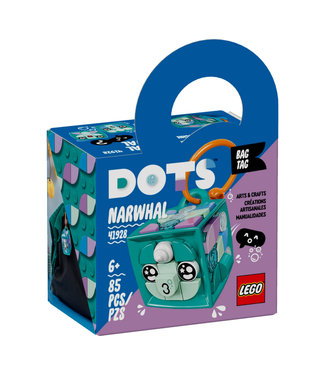 LEGO LEGO Dots Bag Tag Narwhal - 41928