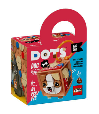 LEGO LEGO Dots Bag Tag Dog - 41927