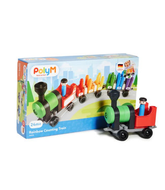 Hape PolyM Rainbow Counting Train