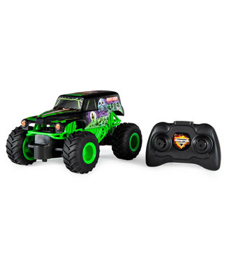 Spinmaster Monster Jam Remote Control Monster Truck - 1:24 Scale