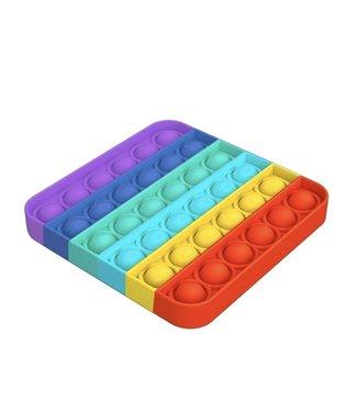 Top trenz OMG Pop Fidgety Rainbow Square