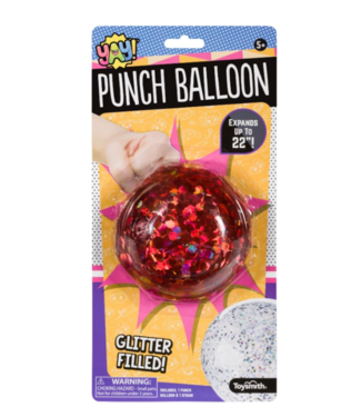 Toysmith Yay! Jumbo Punch Balloon