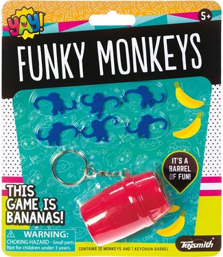 Toysmith Yay! Funky monkeys