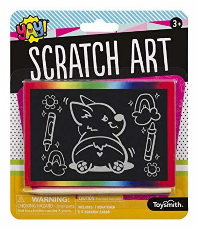 Toysmith Yay! Scratch Art
