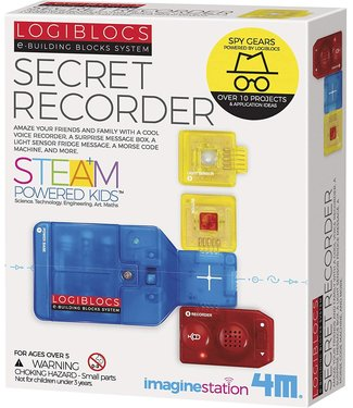 Toysmith Logiblocks Secret Recorder