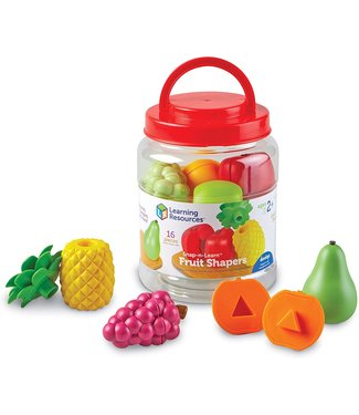 Learning Resources Snap-N-Learn Fruit Shapers