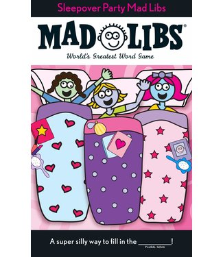 Penguin Random House Mad Libs Sleepover Party