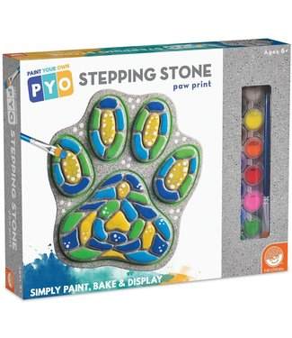 Mindware Paint Your Own Stepping Stone: Paw Print
