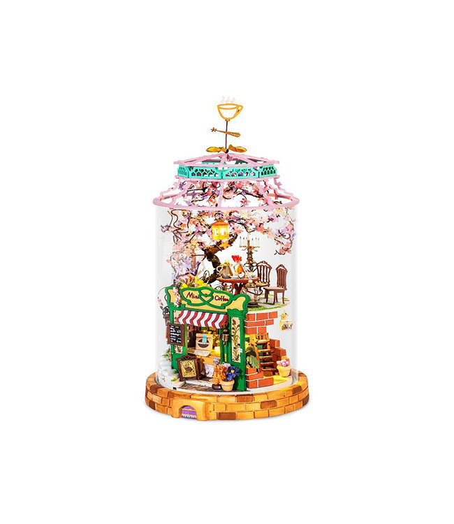 Hands Craft DIY Glass Miniature Magical Cafe