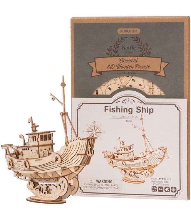 Hands Craft Fishing Ship