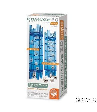 Mindware Q-Ba-Maze 2.0: Cascading Marbles Refill Set