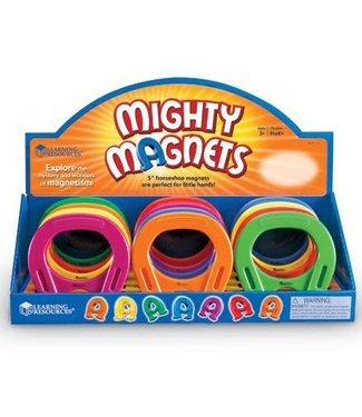 Learning Resources Primary Science Horseshoe-Shaped Magnets