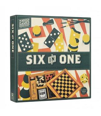 Professor Puzzle Six in One Game Compendium