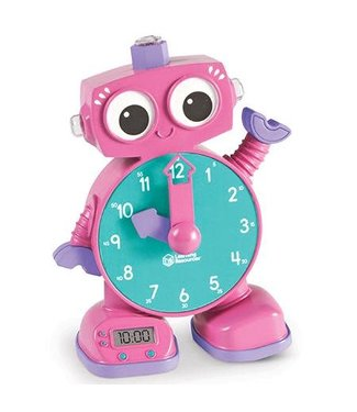 Learning Resources Tock the Learning Clock - Pink