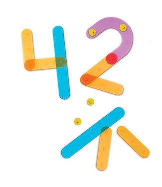 Learning Resources Number Construction Set
