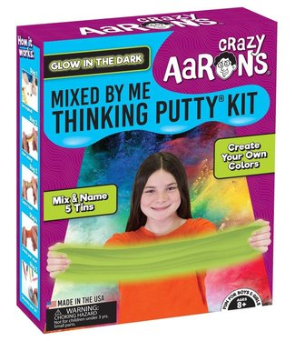Crazy Aaron Thinking Putty - Mixed by Me Kit, Glow in the Dark