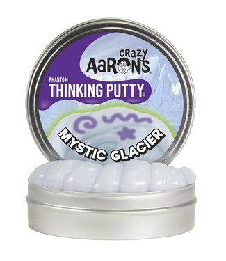 "Crazy Aaron Thinking Putty - 4"" Mystic Glacier"