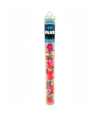 Plus-Plus Mini Maker Tube - Mermaid