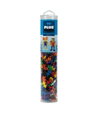 Plus-Plus Open Play Tube - 240pc Basic Mix
