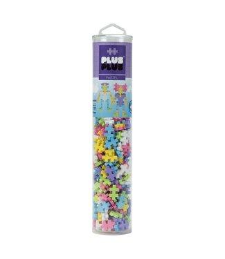 Plus-Plus Open Play Tube - 240pc Pastel Mix
