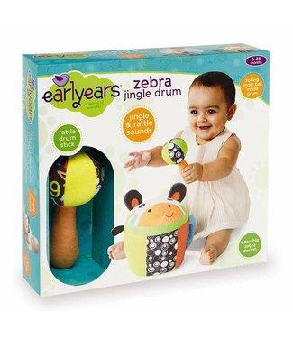 Earlyears Zebra Jingle Drum