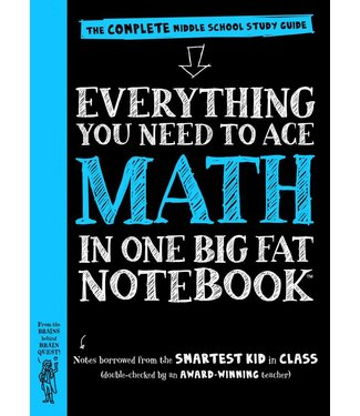 Workman Publishing Everything You Need to Ace Math in One Big Fat Book