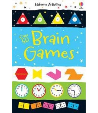 Usborne Over 50 Brain Games