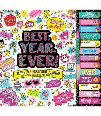 Klutz Best. Year. Ever! Journal/Activity Kit