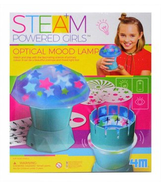 4M STEAM Powered Girls Optical Mood Lamp