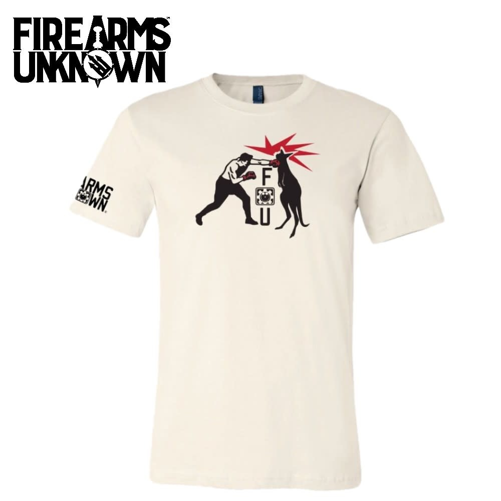 Firearms Unknown FU Kangaroo T-Shirt