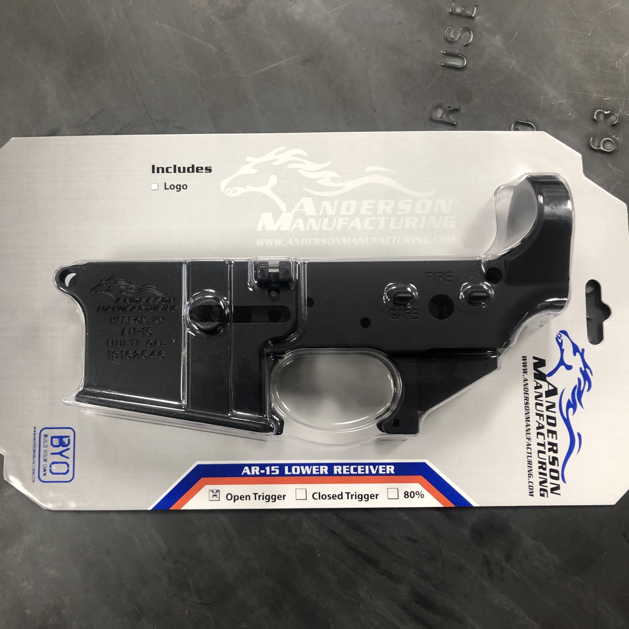 AM-15 Open Trigger Receiver MULTI