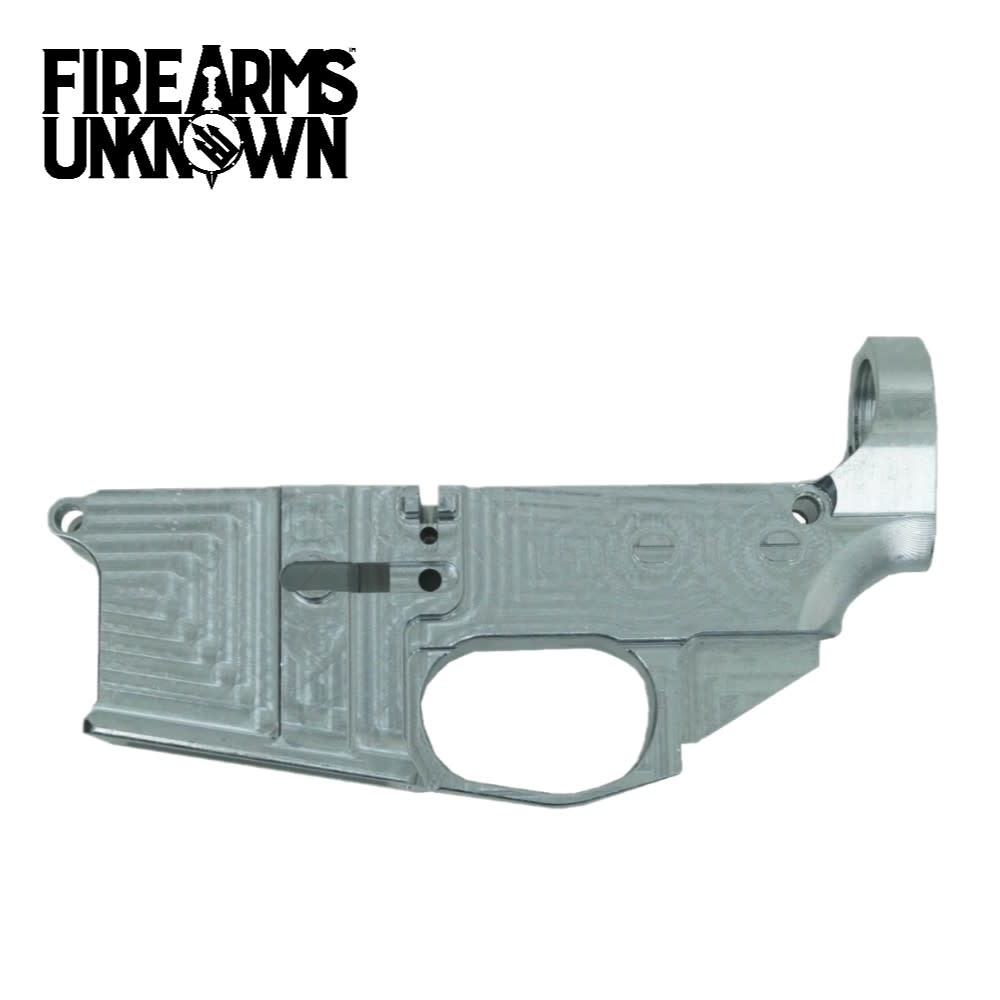 House AR15 Billet 80% Lower 7075 T6