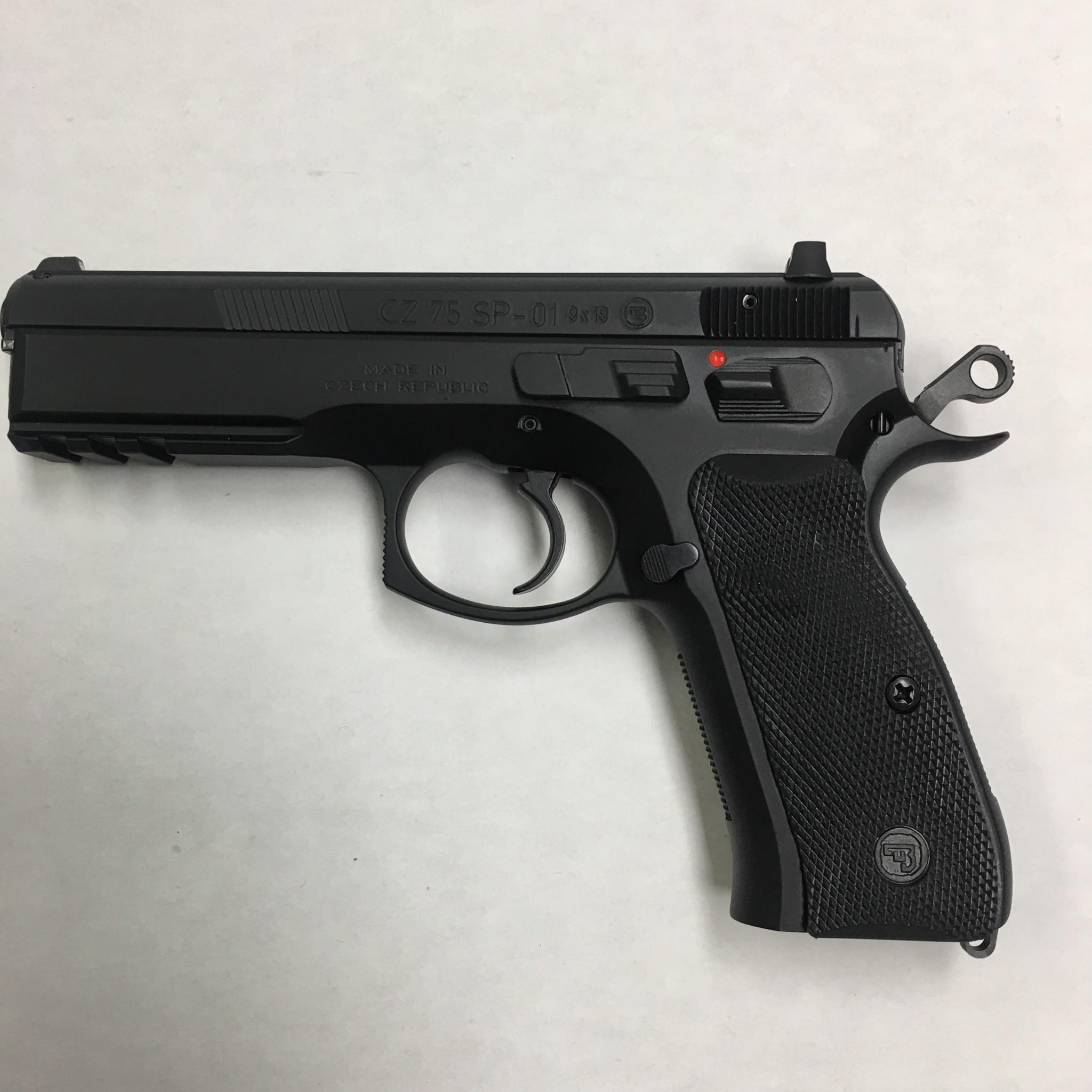 CZ-USA 75 SP-01 Pistol 9MM