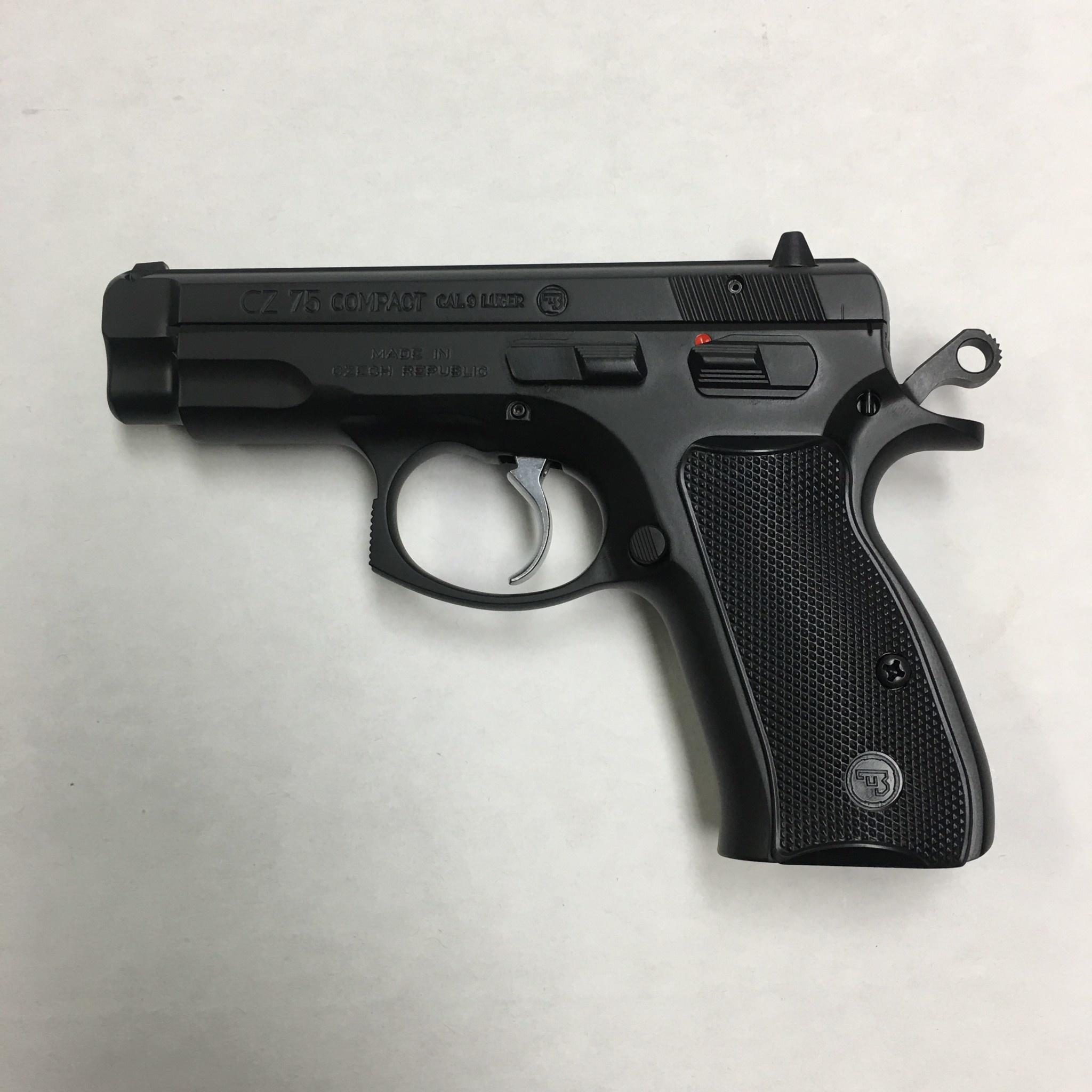 CZ-USA 75 Compact Pistol 9MM
