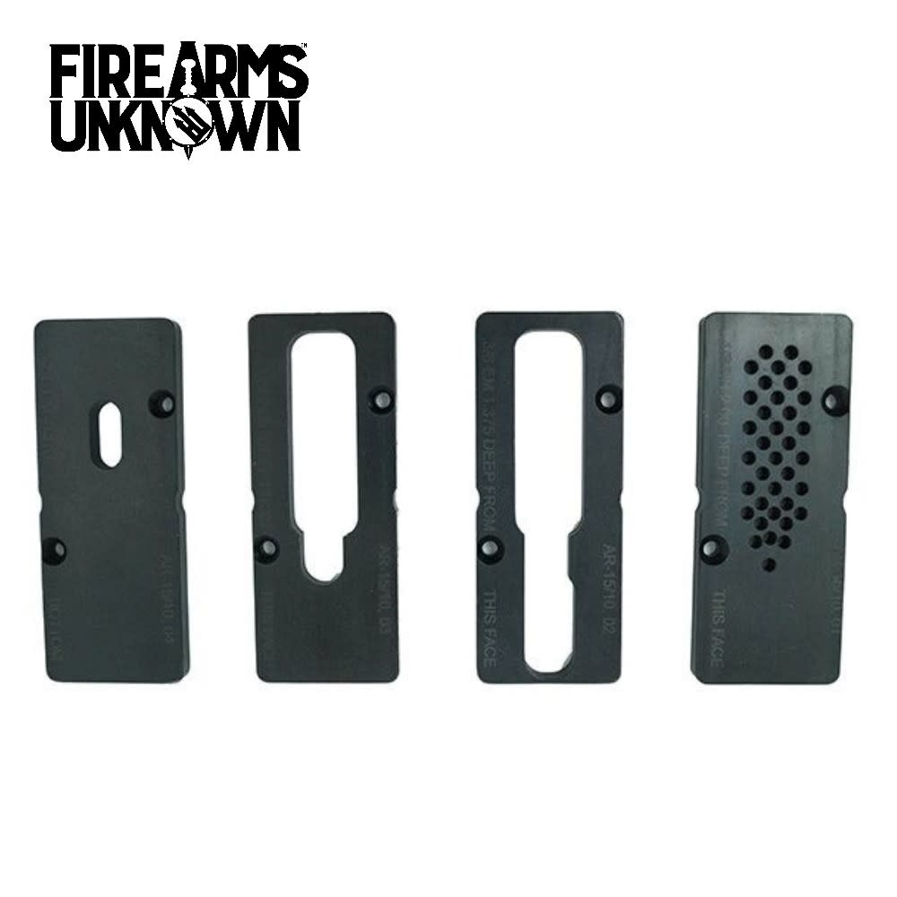 House AR15 and LR308 80% Lower Jig Top Plate Set