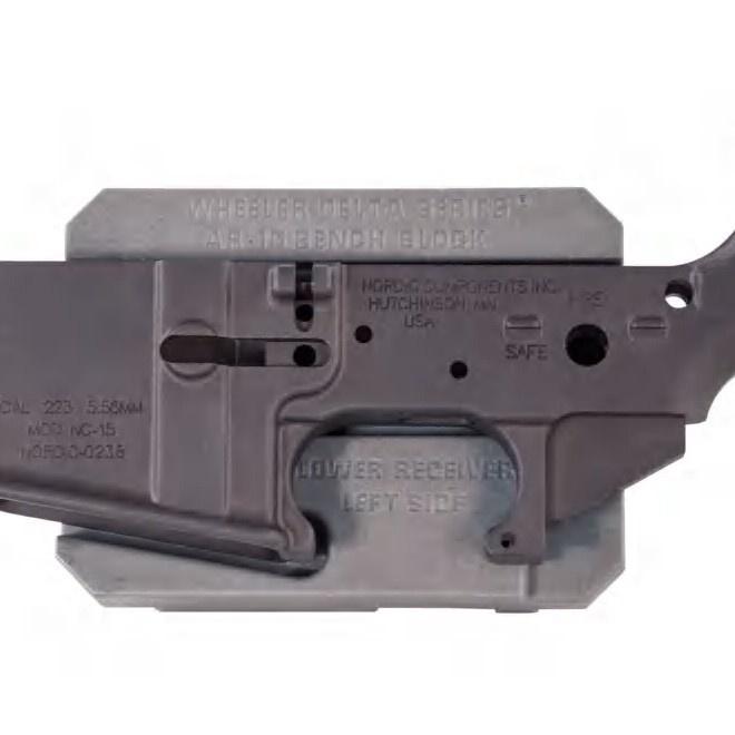 Wheeler AR-15 Bench Block Gray