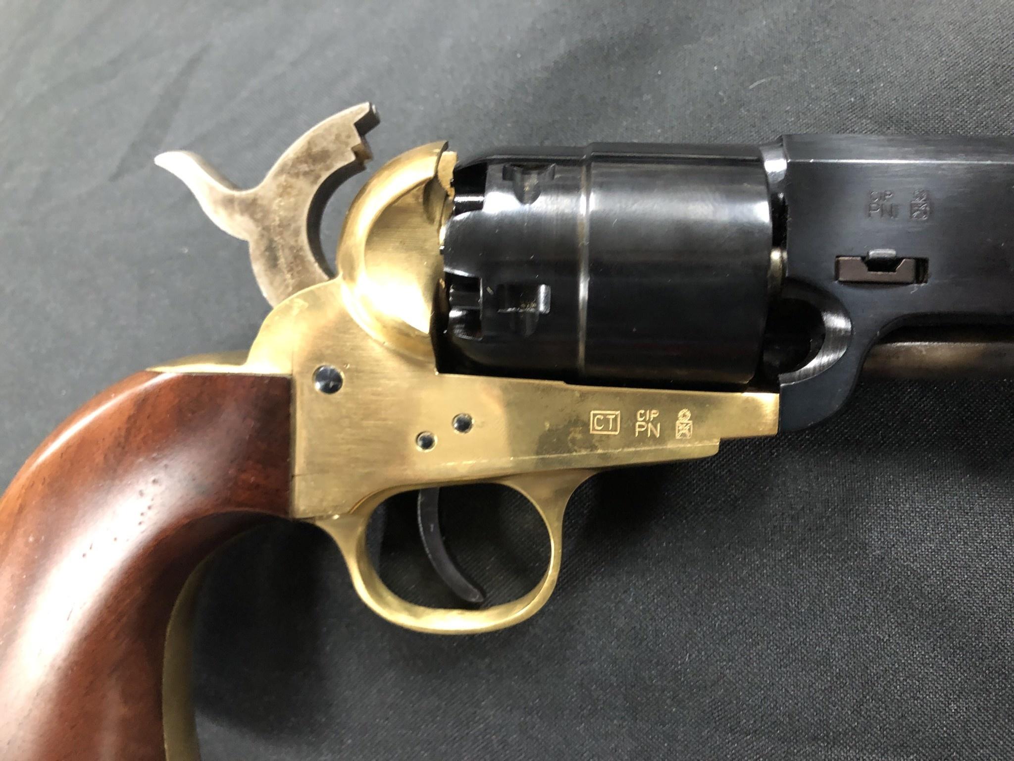 "Traditions Reb Confederates / Walnut / Brass/.44 / 7.375"" Blued/13.5""/10"