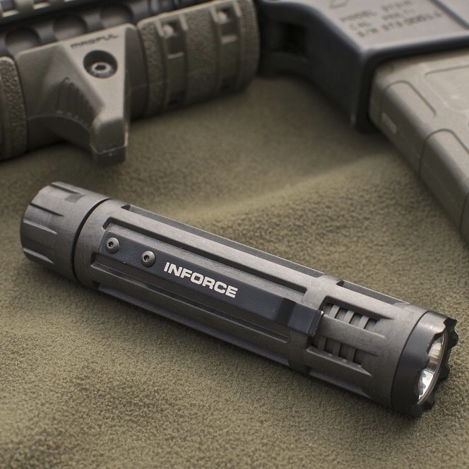 Inforce 6VX Flashlight 300 Lumens Black