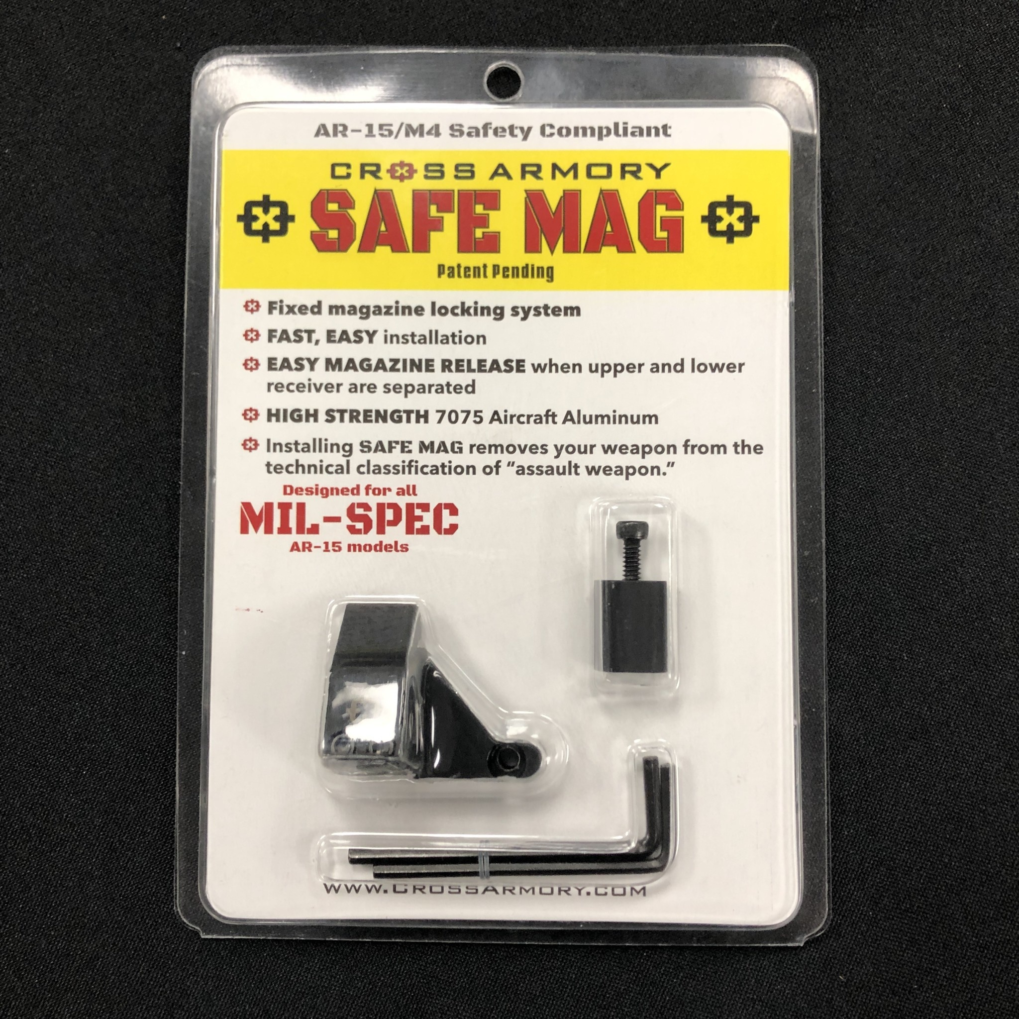 Cross Armory AR15 Safe Mag