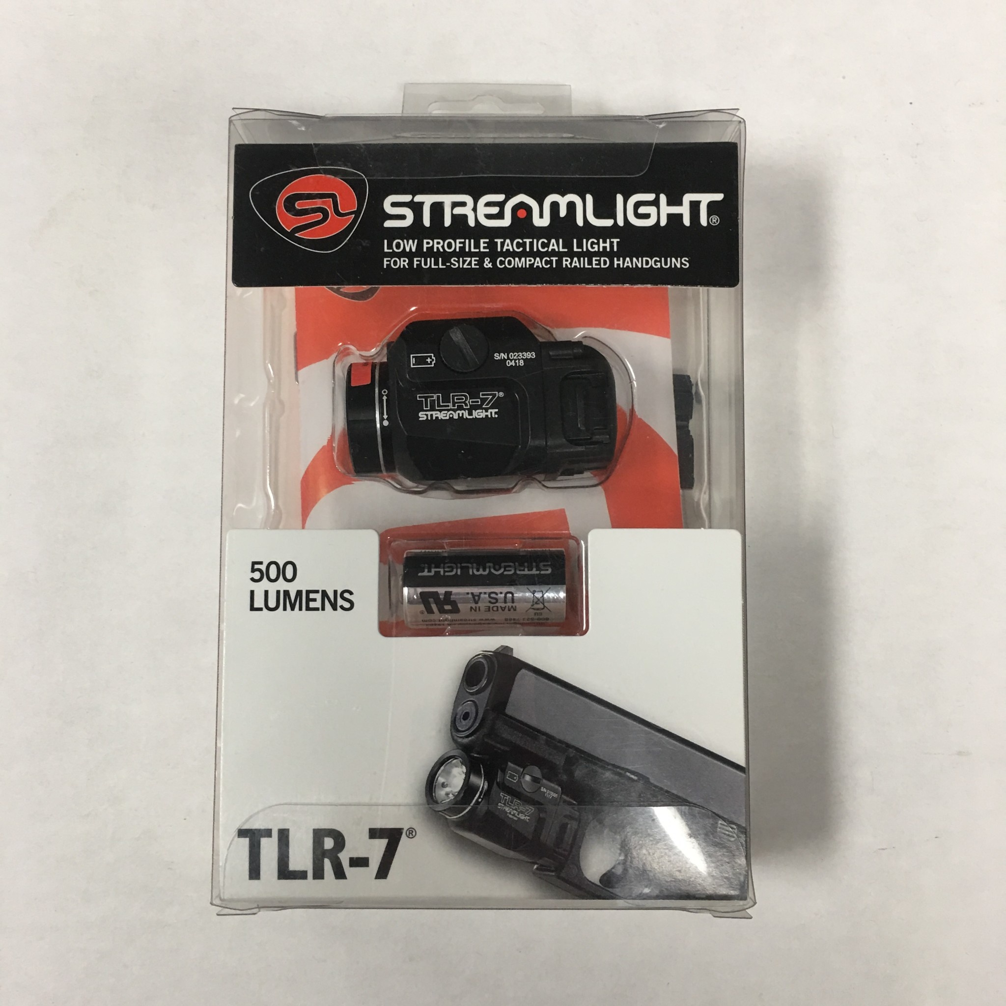 Streamlight TLR-7 Rail Mounted Pistol Light