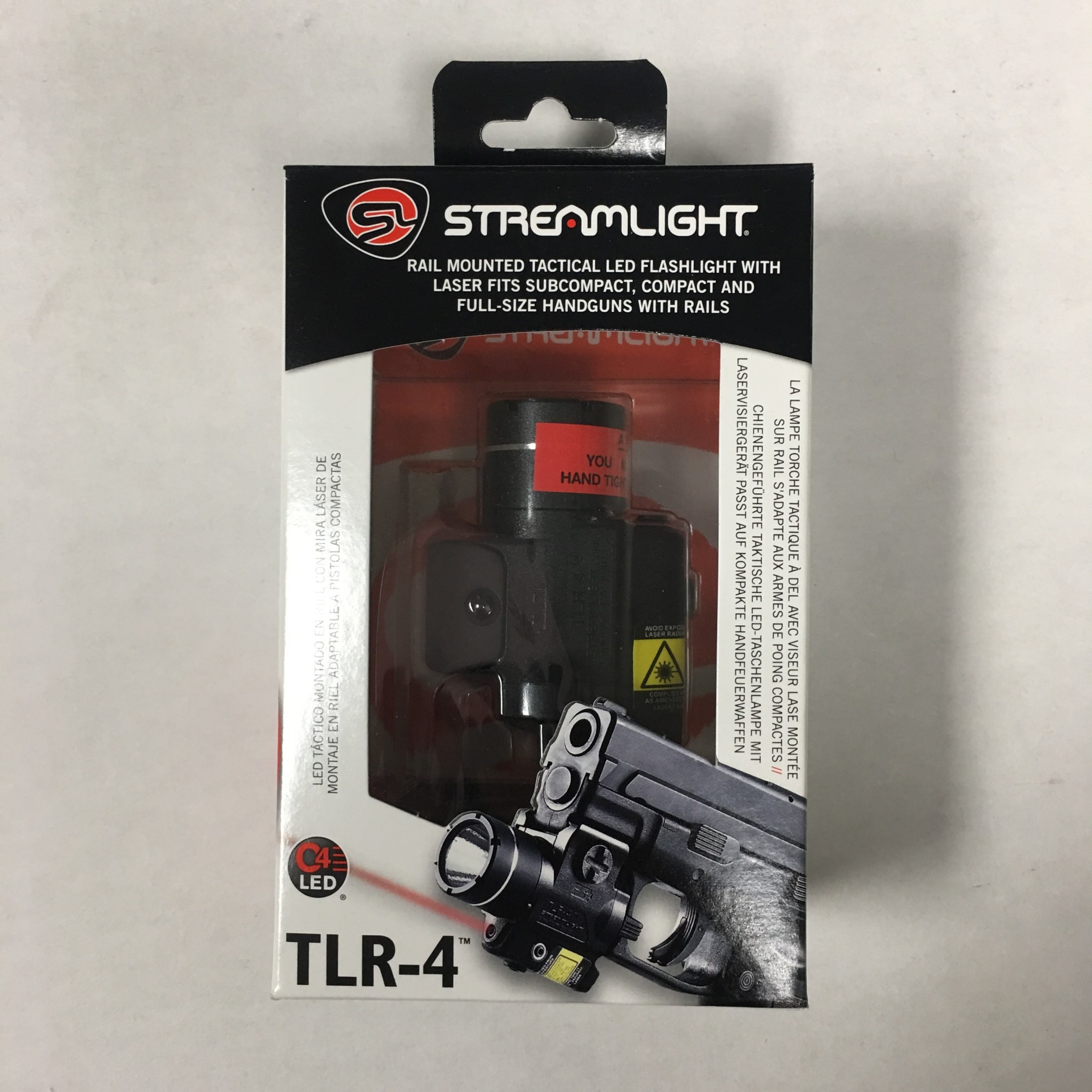 Streamlight TLR-4 Rail Mounted Pistol Light