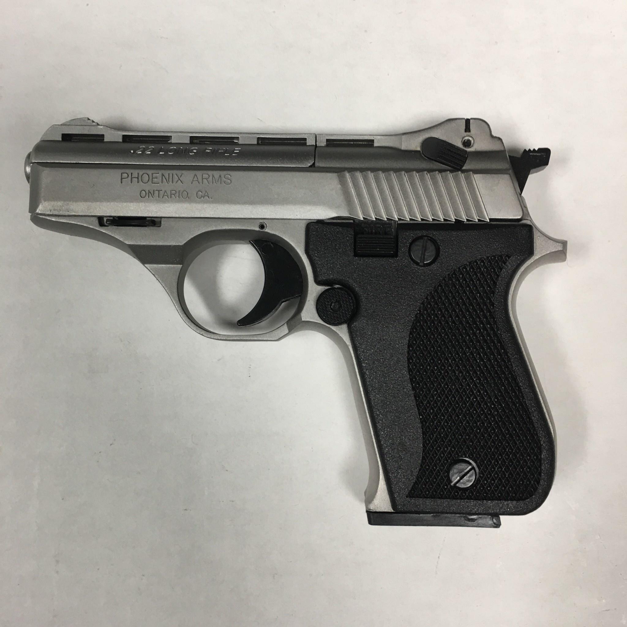 Phoenix Arms HP22A NIC/BLK Pistol 22LR