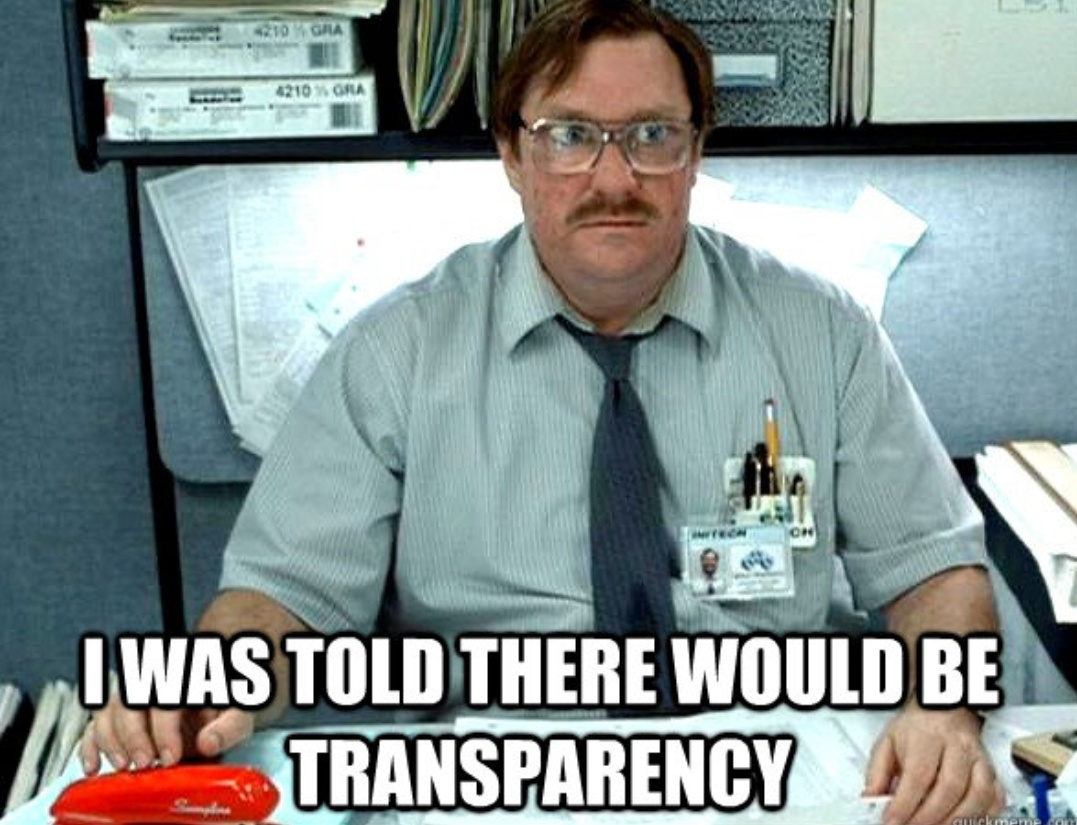 Want government transparency? Only if you pay for it