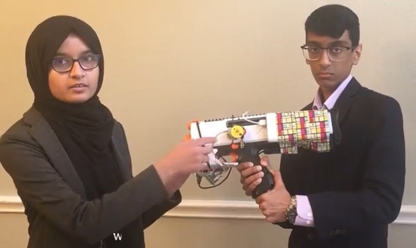 STEM students create dumbest smart gun ever