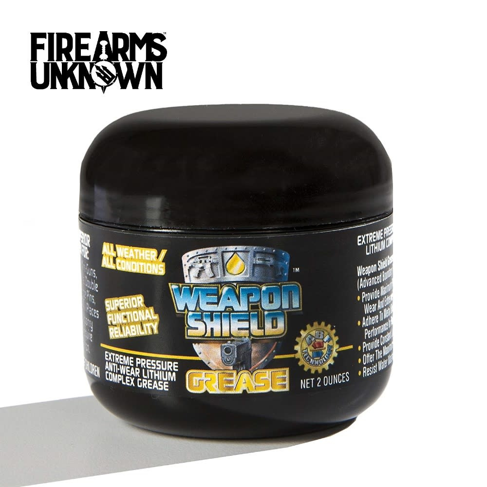 Weapon Shield 2 Ounce Grease Tub