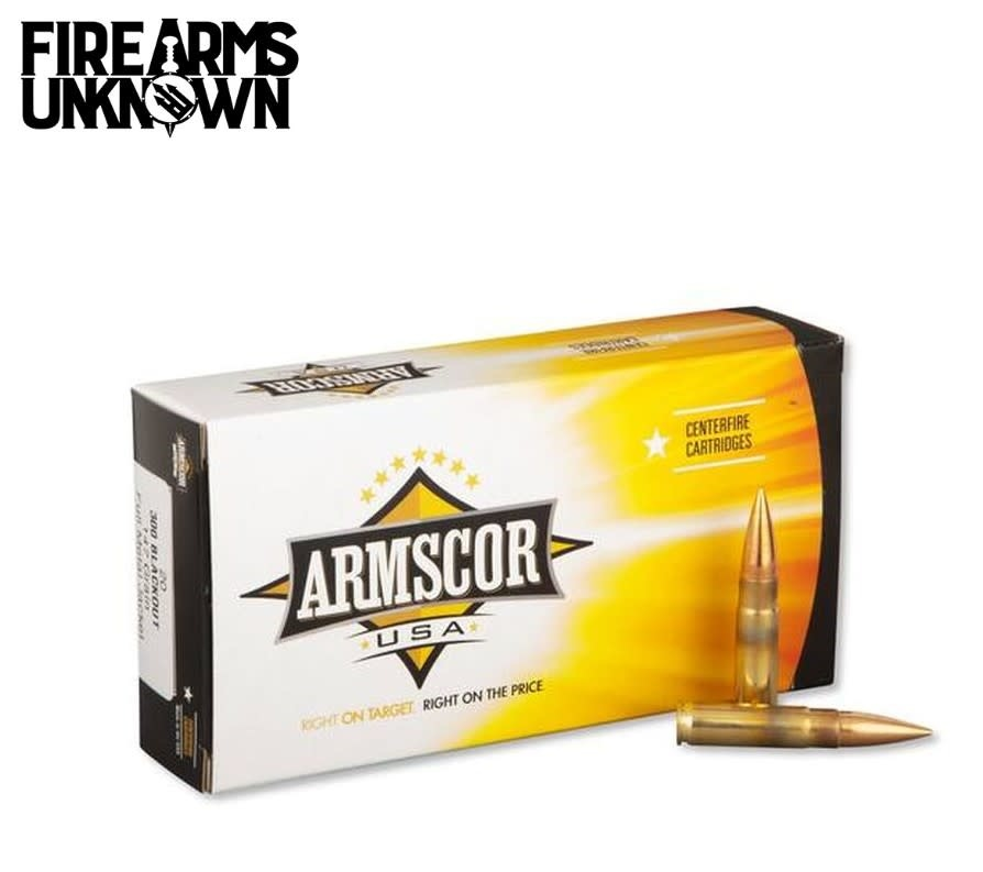 ARMSCOR 300 BLK 20rd Box 147gr FMJ