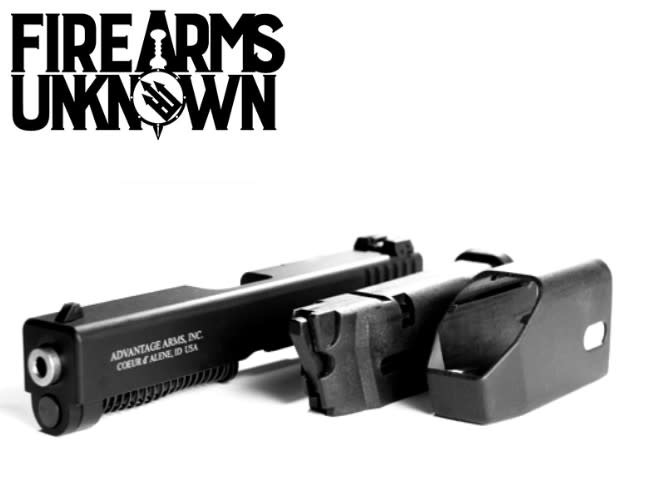 Advantage Arms 22 conversion kit slide with mags