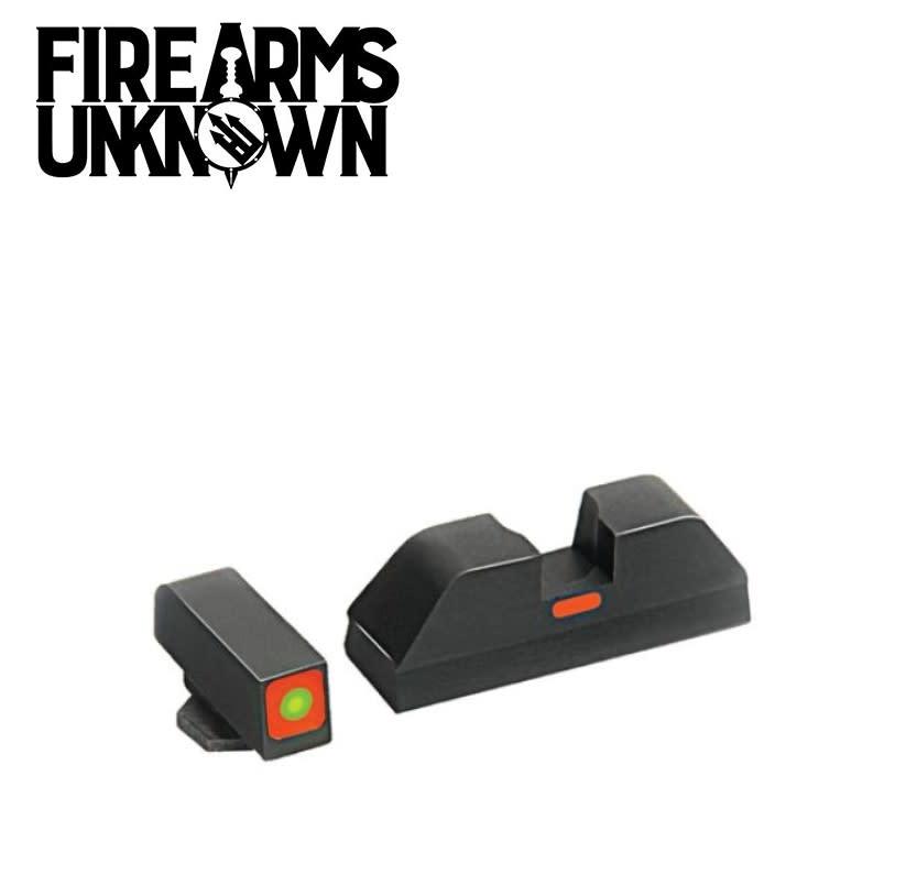 Ameriglo GL-616 Glock Sights CAP Tritium Front Orange